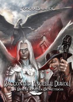 racconti di angeli e diavoli lettering front